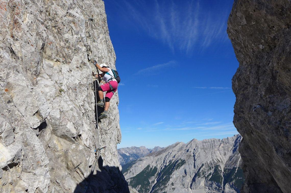 Klettersteigset Innsbruck : Klettersteig ausbildungskurs innsbruck